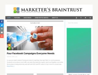 marketersbraintrust.com screenshot