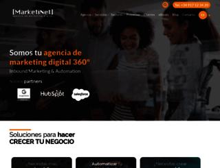 marketinet.com screenshot