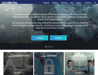 marketing.accelerite.com screenshot