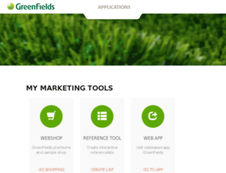 marketing.greenfields.eu screenshot