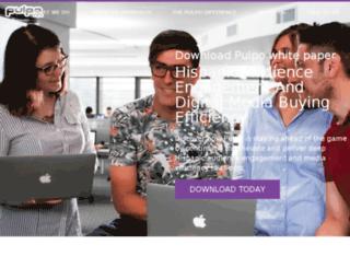 marketing.pulpomedia.com screenshot