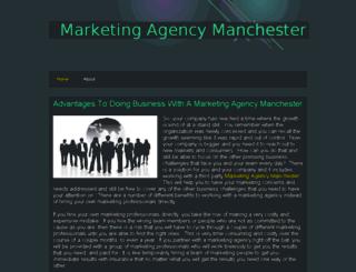 marketingagencymanchester.webs.com screenshot