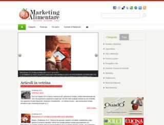 marketingalimentare.it screenshot