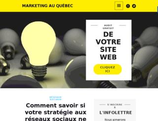 marketingenligne.ca screenshot