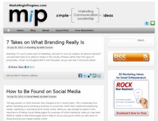 marketinginprogress.com screenshot