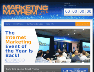marketingmayhemlive.com screenshot