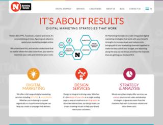 marketingnomads.com screenshot