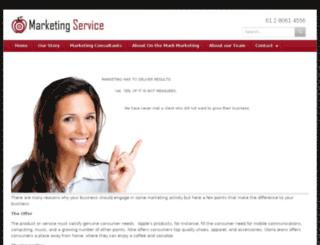 marketingservice.net.au screenshot