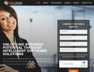 marketplace.algozone.com screenshot