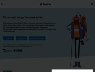 marketpress.de screenshot