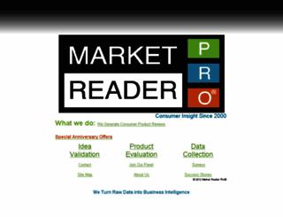 marketreaderpro.com screenshot