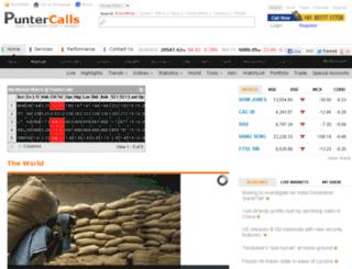 markets.puntercalls.com screenshot