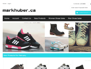 markhuber.ca screenshot