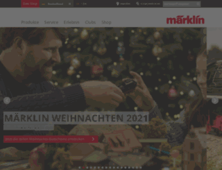marklin.de screenshot