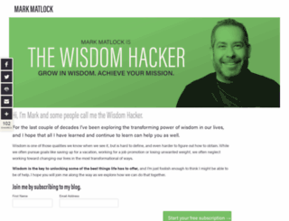 markmatlock.com screenshot