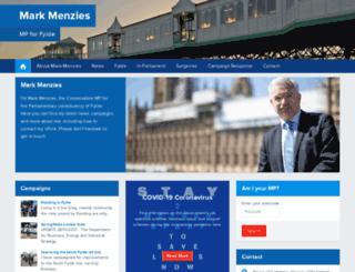 markmenzies.org.uk screenshot