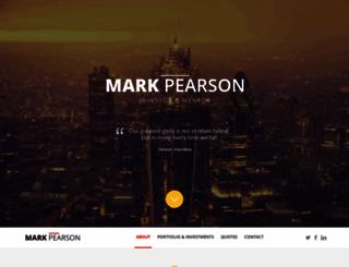 markpearson.com screenshot