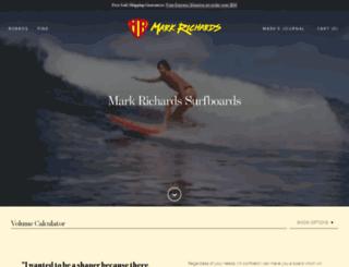 markrichardssurfboards.com screenshot