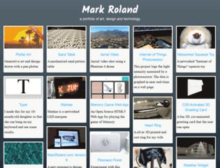 markroland.com screenshot