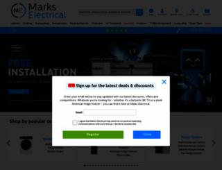 markselectrical.co.uk screenshot