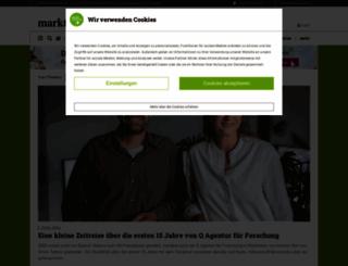 marktforschung.de screenshot