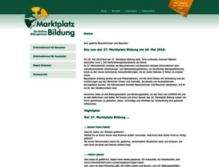 marktplatzbildung.de screenshot
