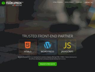 markupbox.com screenshot