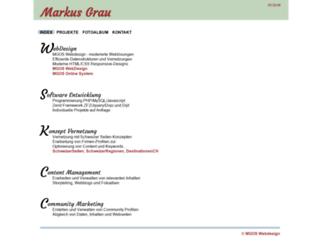 markusgrau.ch screenshot