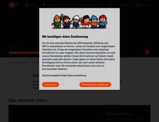 markuslanz.zdf.de screenshot