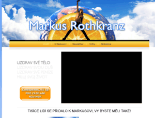 markusrothkranz.cz screenshot
