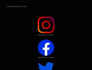 markwahlberg.com screenshot