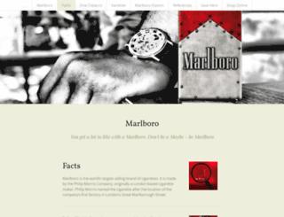 marlboroflavourplus.strikingly.com screenshot