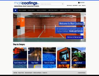 marlcoatings.co.uk screenshot
