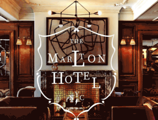 marltonhotel.com screenshot