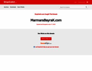 marmarabayrak.com screenshot
