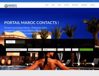 maroc-contacts.com screenshot