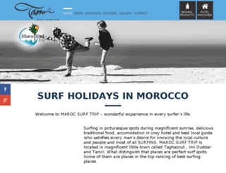 marocsurftrip.com screenshot