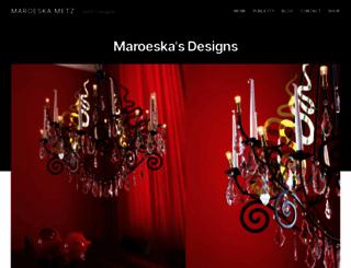 maroeska.com screenshot