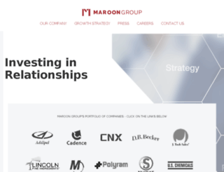marooninc.com screenshot