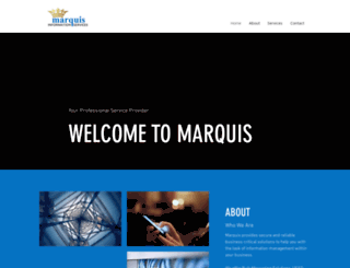 marquis.co.za screenshot