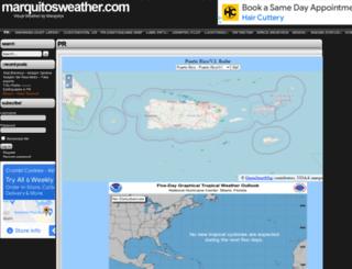 marquitosweather.com screenshot