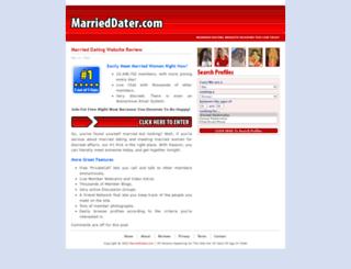 marrieddater.com screenshot