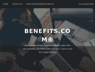 marriott.benefits.com screenshot