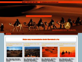 marruecostravel.com screenshot