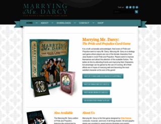 marryingmrdarcy.com screenshot
