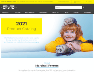 marshallpet.com screenshot