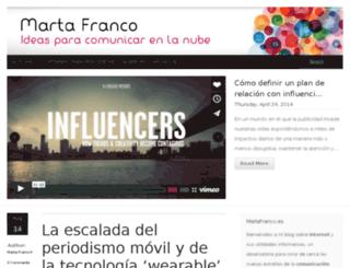 martafranco.es screenshot