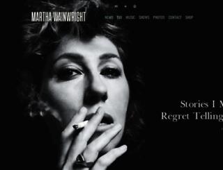 marthawainwright.com screenshot
