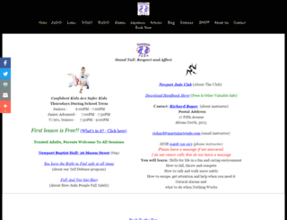 martialartsjudo.com screenshot