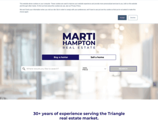 martihampton.com screenshot